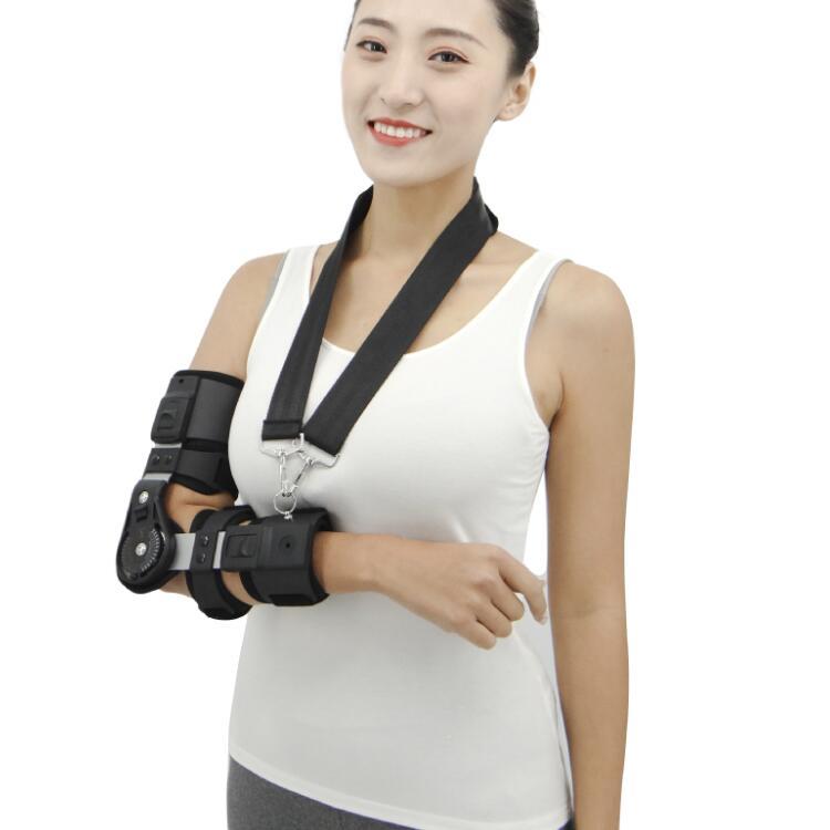 肘关节支具如何使用
